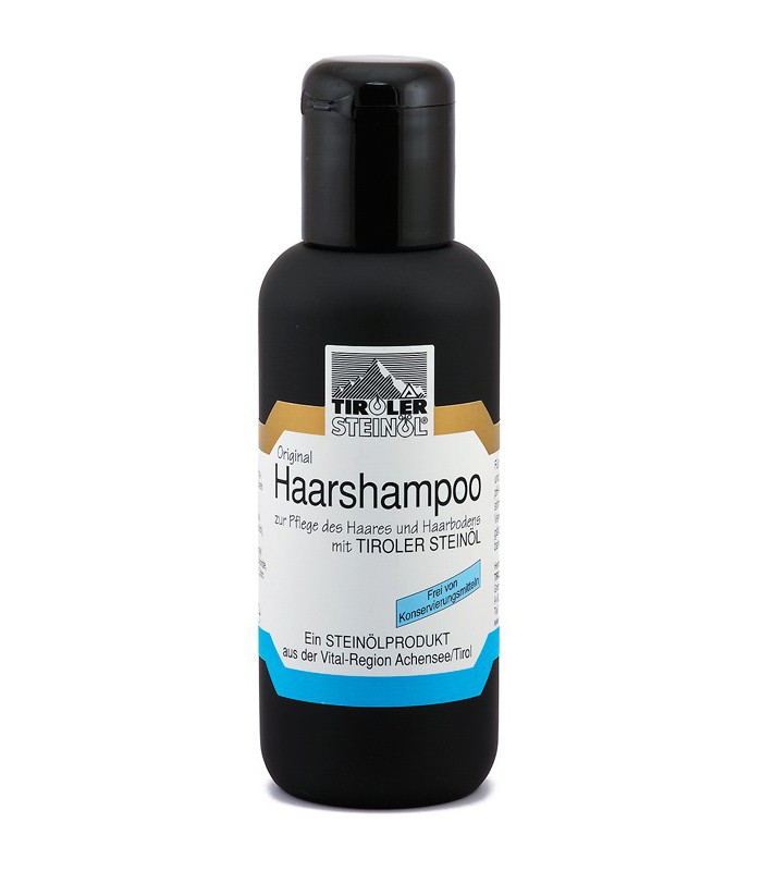 Vlasový šampon s kamenným olejem: 200–500 ml