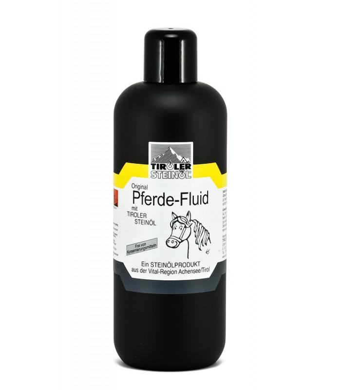 OCHRANNÝ FLUID PRO KONĚ s kamenným olejem: 500 ml