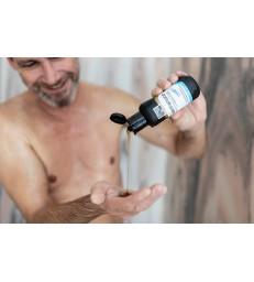 ŠAMPON NA VLASY s kamenným olejem: 200–500 ml