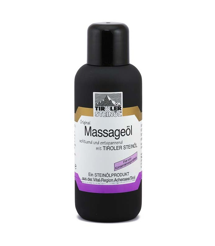 Masážní kamenný olej