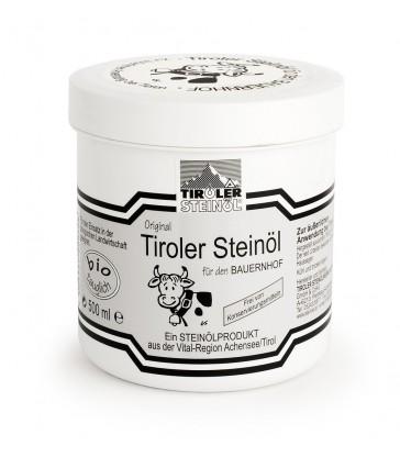 FARMÁŘSKÁ ČERNÁ MAST s kamenným olejem: 500 ml