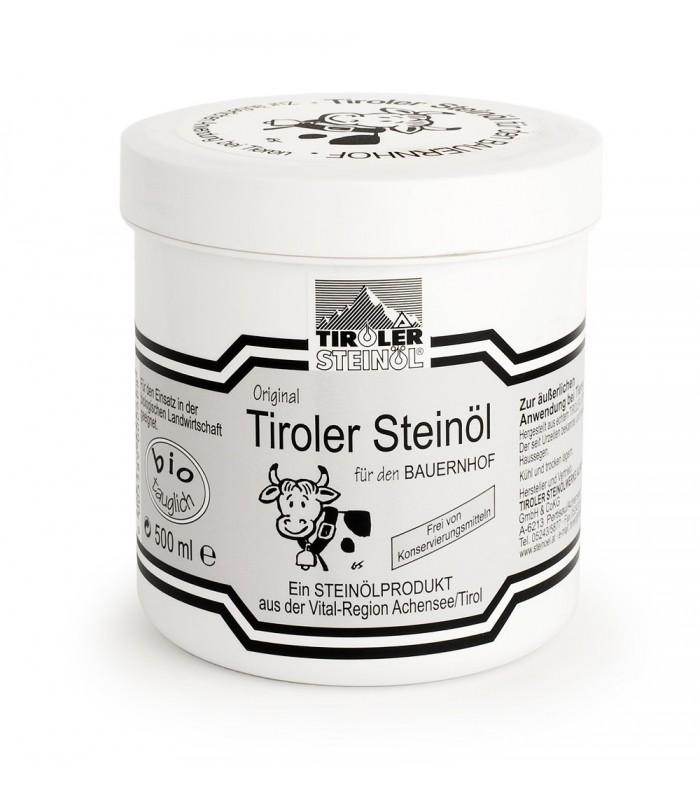 FARMÁŘSKÁ ČERNÁ MAST s kamenným olejem – 500 ml